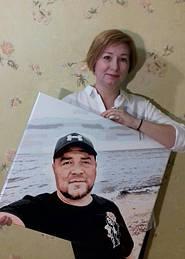 Картина по номерам по фотографии и ее прекрасная художница.jpg
