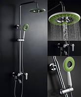Душевая стойка (колонна) со смесителем для ванны Green