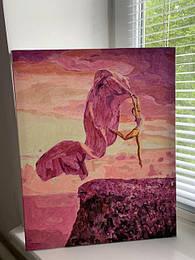 Картина по номерам Пурпурный закат.jpg