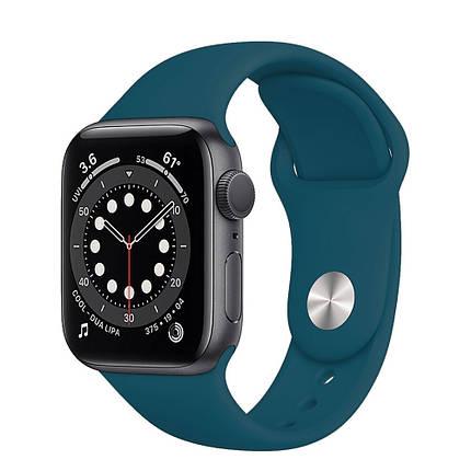 Ремешок силиконовый Sport Band 38mm   40mm Cosmos для Apple Watch SE   6   5   4   3   2   1, фото 2