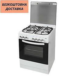 Кухонная плита Ventolux GE 6060 CS 6 WH 2 Белая