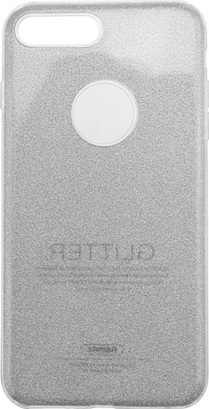 Чехол-накладка Remax Glitter Case Apple iPhone 7 Plus Silver (bz_F_62138)