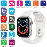 Умные Женские Смарт-часы Smart watch Modfit NK03 белые наручные часы электронные + ПОДАРОК
