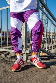 Спортивні штани Гармата Вогонь Split фіолетово-рожеві