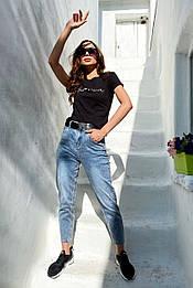 Повседневные плотные джинсы S6633 (40–48р) в расцветках