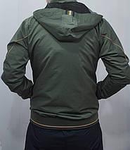 Прогулочный демисезонный костюм SOCCER Турция плащёвка брюки прямые цвет хаки размеры м л, фото 3