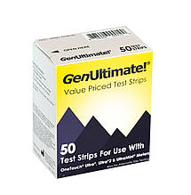 Тест-полоски Gen Ultimate  (для One Touch Ultra)  50 шт
