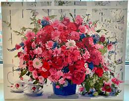 Картина за номерами Рожеві хризантемы.јрд