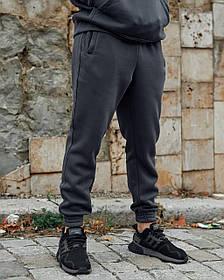 Теплі спортивні штани Гармата Вогонь Jog 2.0 темно-сірі M