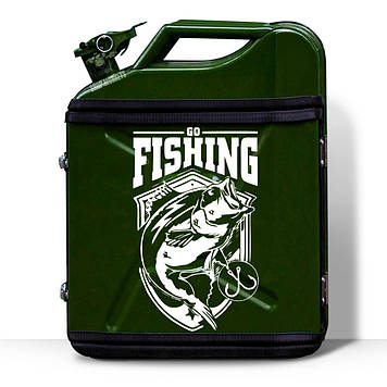 Канистра-бар «Go Fishing» 20 л. цвет любой