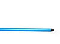 Ручка для мітли, швабри Metalstick гладкий пластик 115см (115CIAL)