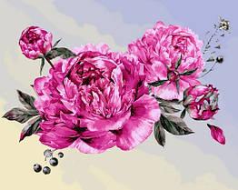 Картина по номерам Любимые цветы VP1407 Babylon Turbo 40 х 50 см