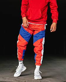 Спортивні штани Гармата Вогонь Split червоно-сині