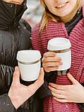 Стеклянный кофейный стакан Sip 350 мл, фото 5