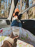 Стеклянный кофейный стакан Sip 350 мл Белый, фото 4