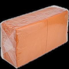 "Салфетка ""Z-Best"" оранжевая 33х33 200шт/уп 2сл (1ящ/4уп)"