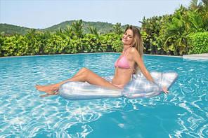 Надувной матрас для плавания Bestway 43414 1,85 м x 1,14 м, фото 2