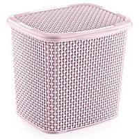 Контейнер для прального порошку OZ-ER PLastik HONEYCOMB 6.2 л, білий (N010-X24) Рожевий