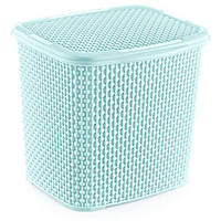 Контейнер для прального порошку OZ-ER PLastik HONEYCOMB 6.2 л, білий (N010-X24) Салатовий
