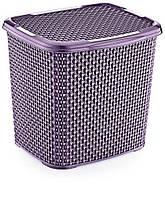 Контейнер для прального порошку OZ-ER PLastik HONEYCOMB 6.2 л, білий (N010-X24) Фіолетовий