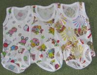 Детский комплект нижнего белья для девочки. Размер 28