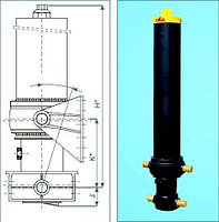 Гидроцилиндр подьема кузова HYVA FC-169-5-07130-000A-K0343 5 штоковый