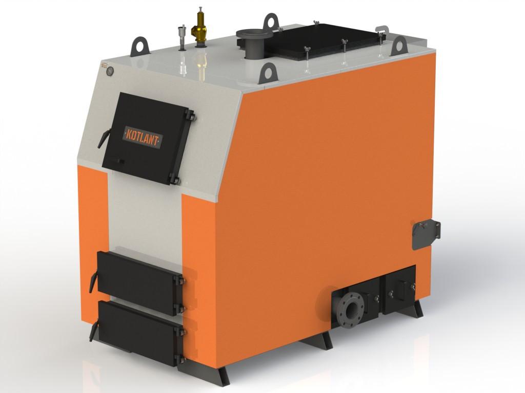 Твердотопливный котел KOTLANT КВ-200 базовая комплектация