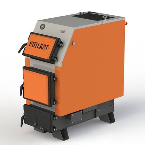 Твердопаливний котел KOTLANT КВУ-16 базова комплектація, фото 2