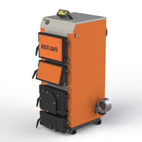 """Твердопаливний котел KOTLANT КДУ-16 з електронною автоматикою """"TECH"""" c функцією zPID, фото 2"""