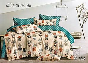 Комплект постельного белья Тет-А-Тет ( Украина ) Сатин евро (S-375)
