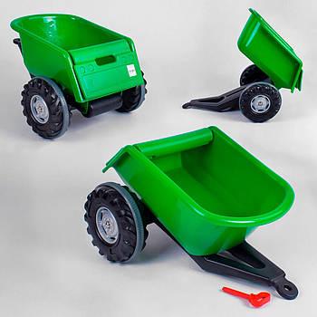 Прицеп для педального трактора Pilsan Trailer 07-295 зеленый