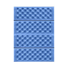 Туристичний складаний килимок сидушка Lesko Shanpeng Blue каремат для туризму 38,5*28*1 см