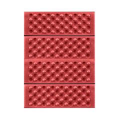 Туристичний складаний килимок сидушка Lesko Shanpeng Red каремат для туризму 38,5*28*1 см
