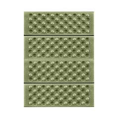 Туристичний складаний килимок сидушка Lesko Shanpeng Green каремат для туризму 38,5*28*1 см