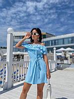 Платье женское в расцветках 82739