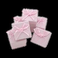 Коробочка для ювелирных изделий 50х50х35 Розовый