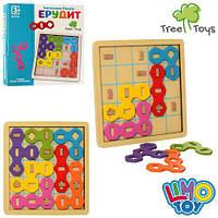 Дерев'яна гра тетріс,вкладиші,лабіринт,головоломка, фото 1
