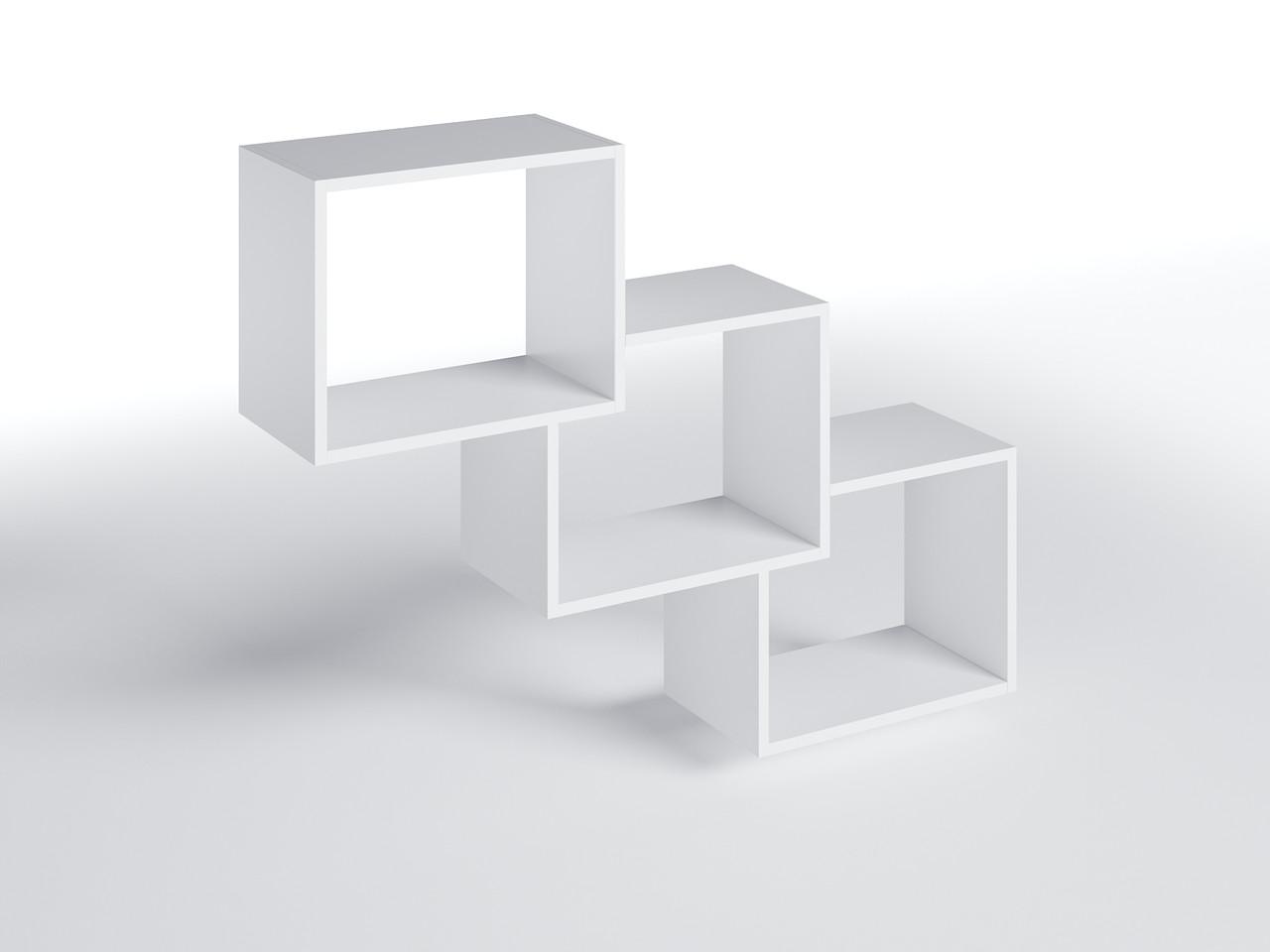 Полиця настінна ПН-1 Білий