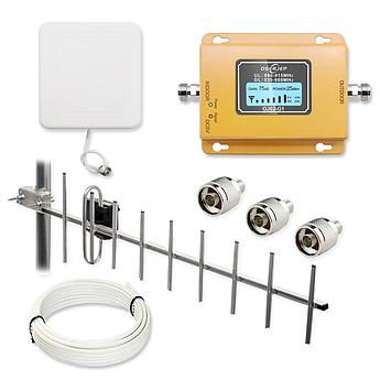 Комплект для усиления мобильного сигналаOserjep OJ02-G1 2G GSM 900 МГц