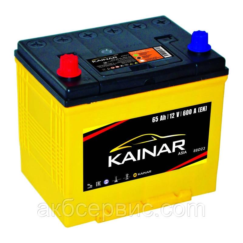 Аккумулятор автомобильный Kainar 6СТ-65 Аз Asia