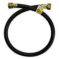 Шланг для газа SANTAN без ниппеля, черный, ГГ 150 см