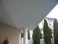 Прозрачные шторы ПВХ для летнего домика (с. Романков)