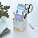 Подставка для ручек и смартфона Leitz WOW. Жовта, фото 2