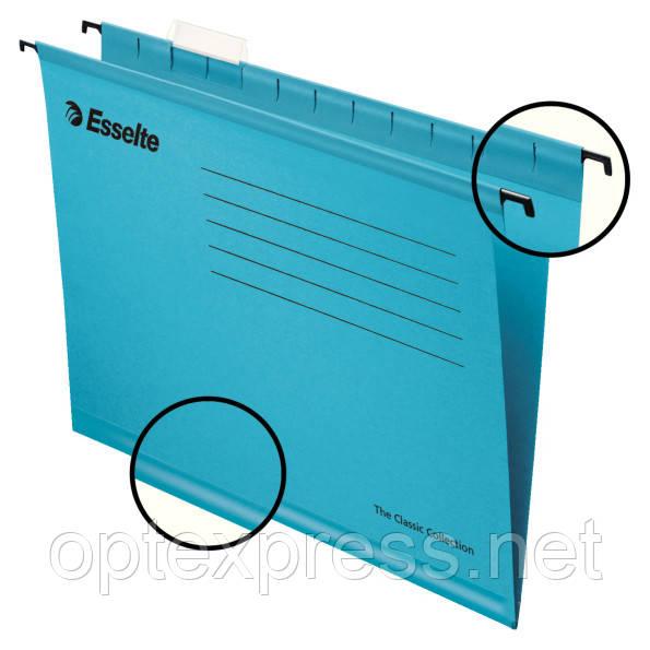 Підвісна папка Esselte Classic. Синя