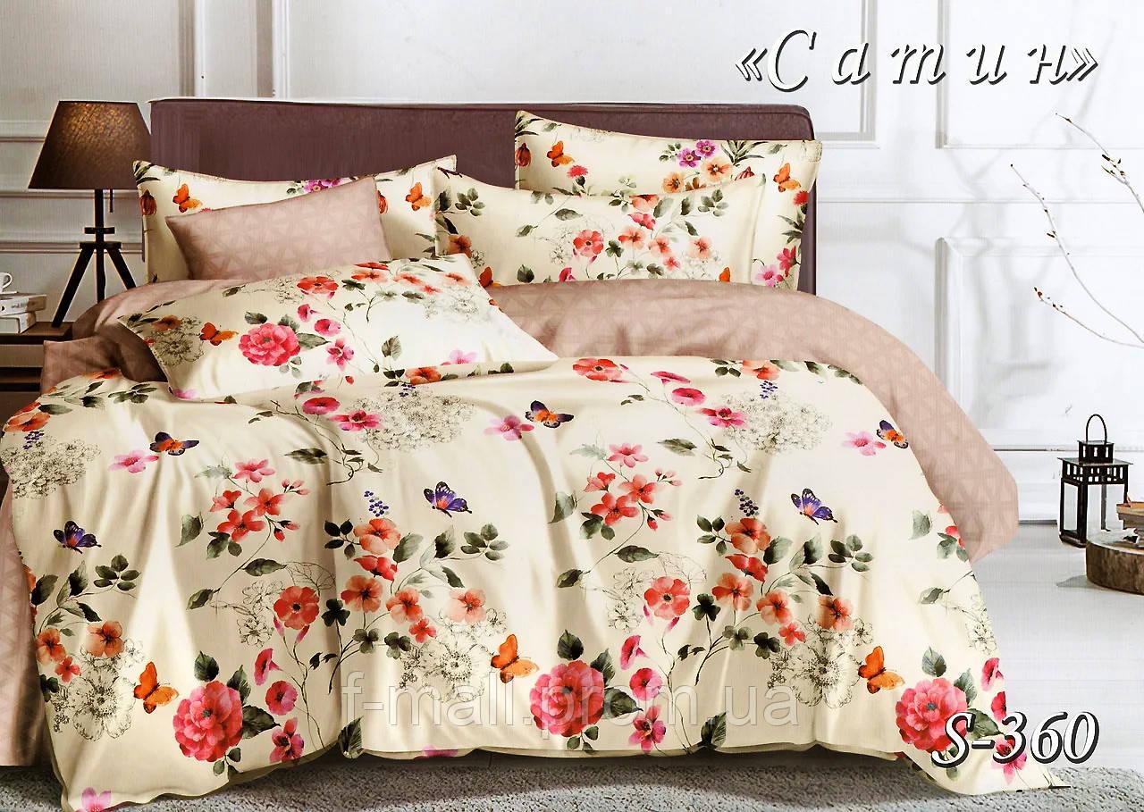 Комплект постельного белья Тет-А-Тет ( Украина ) Сатин семейное (S-360)