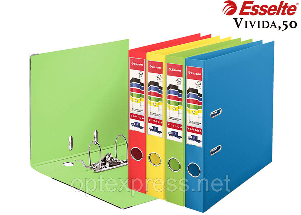 Папка-реєстратор Esselte Vivida, А4 50мм.