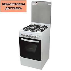 Кухонная плита Ventolux GE 5060 CS 6 WH 2 Белая