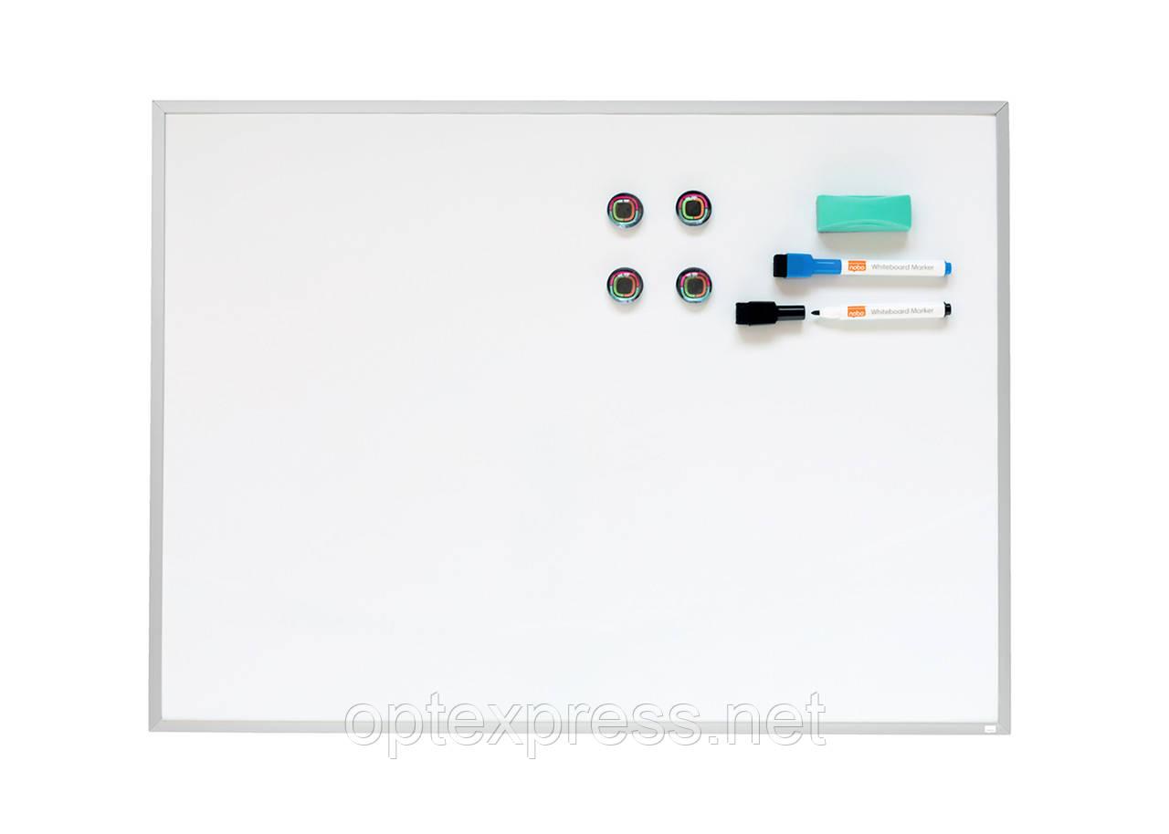 Дошка магнітно-маркерна Nobo Aluminium Frame 585х430мм