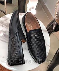 Чоловічі мокасини жіночі чорні світлі в дірочку сітка 40-45р,мокасини туфлі чоловічі літні чорні в дірочку