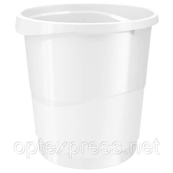 Корзина для мусора Esselte Europost VIVIDA. Белая